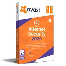 Avast Internet Security 2021, Runtime: 1 Year, Device: 1 Device, image