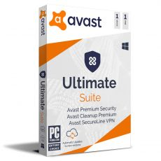 Avast Ultimate Suite 2021, Runtime: 1 Year, Device: 1 Device, image