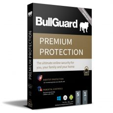 BullGuard Premium Protection, Runtime: 1 Year, Device: 5 Devices, image