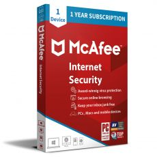 McAfee Internet Security 2021, Runtime: 1 Year, Device: 1 Device, image