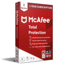 McAfee Total Protection 2021, Runtime: 1 Year, Device: 1 Device, image
