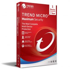 Trend Micro Maximum Security, Runtime: 1 Year, Device: 1 Device, image